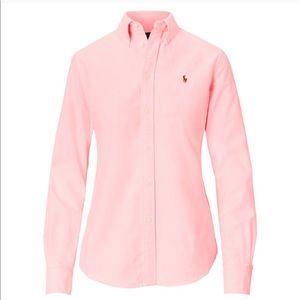 Polo Ralph Lauren Cotton Oxford Shirt, Pink